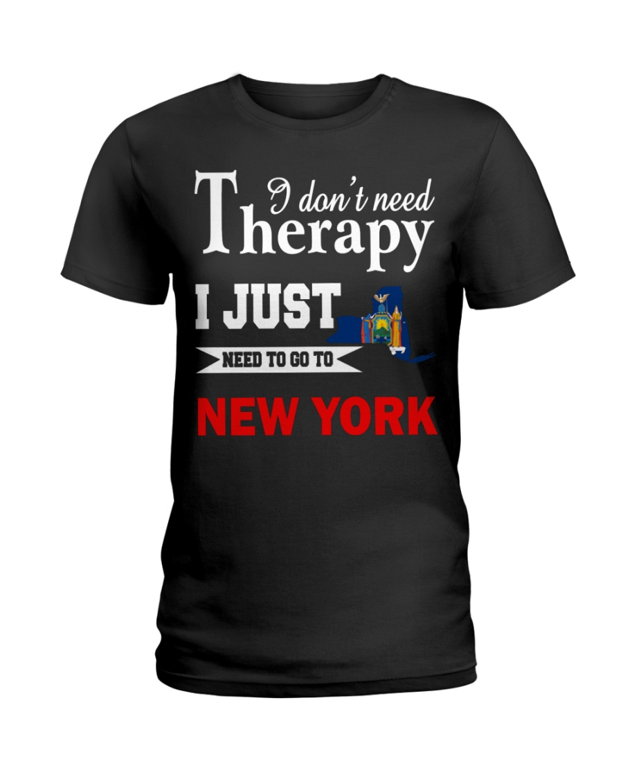 NEW YORK - NEED TO GO TO NEW YORK Ladies T-Shirt