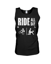 BMX RIDE ALL DAY Unisex Tank tile