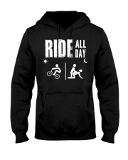 BMX RIDE ALL DAY Hooded Sweatshirt thumbnail