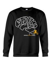 Singletrack-Mind-Mens Mountain Bike Crewneck Sweatshirt thumbnail