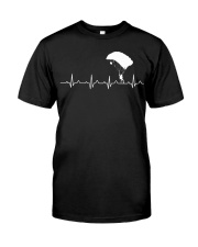 SKYDIVING HEARTBEAT Classic T-Shirt thumbnail