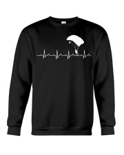 SKYDIVING HEARTBEAT Crewneck Sweatshirt tile