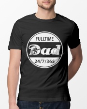 FULLTIME PAINTBALL DAD Classic T-Shirt lifestyle-mens-crewneck-front-13
