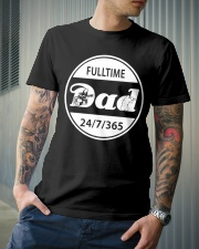 FULLTIME PAINTBALL DAD Classic T-Shirt lifestyle-mens-crewneck-front-6