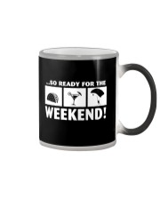 SO READY FOR THE WEEKEND - SKYDIVING Color Changing Mug thumbnail
