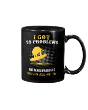 I GOT 99 PROBLEMS AND WAKEBOARD' SOLVES ALL OF 'EM Mug thumbnail