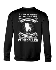 BLOOD SWEAT AND TEARS - THE TITLE PAINTBALLER Crewneck Sweatshirt thumbnail