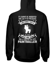 BLOOD SWEAT AND TEARS - THE TITLE PAINTBALLER Hooded Sweatshirt thumbnail