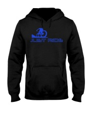 LIMITED EDITION - MTB J-U-S-T R-I-D-E Hooded Sweatshirt thumbnail
