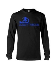 LIMITED EDITION - MTB J-U-S-T R-I-D-E Long Sleeve Tee thumbnail