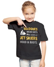 JET SKIERS HOOD AND BOOTS Youth T-Shirt lifestyle-youth-tshirt-front-2