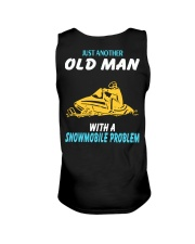 OLD MAN WITH A SNOWMOBILE PROBLEM Unisex Tank thumbnail