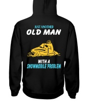 OLD MAN WITH A SNOWMOBILE PROBLEM Hooded Sweatshirt thumbnail