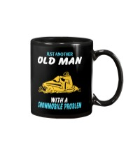OLD MAN WITH A SNOWMOBILE PROBLEM Mug thumbnail