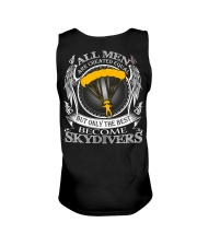 Only the best become Skydivers Unisex Tank thumbnail