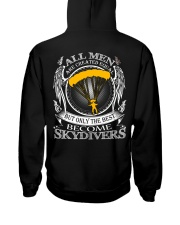 Only the best become Skydivers Hooded Sweatshirt thumbnail