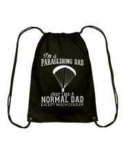 PARAGLIDING DAD Drawstring Bag thumbnail