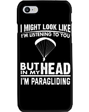 IN MY HEAD I'M PARAGLIDING Phone Case thumbnail