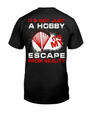 Escape From Reality Paragliding - Limited Edition Classic T-Shirt back