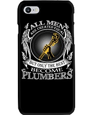 ONLY THE BEST BECOME PLUMBERS Phone Case thumbnail