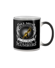 ONLY THE BEST BECOME PLUMBERS Color Changing Mug thumbnail