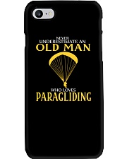 OLD MAN WHO LOVES PARAGLIDING Phone Case thumbnail