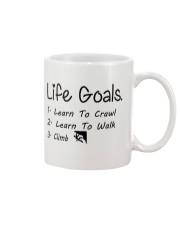 LIFE GOALS - CRAWL WALK CLIMB Mug thumbnail