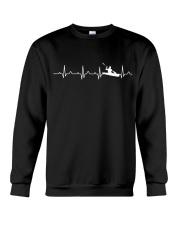 KAYAKING HEARTBEAT Crewneck Sweatshirt thumbnail