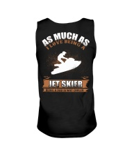 AS MUCH AS I LOVE BEING A JET SKIER Unisex Tank thumbnail