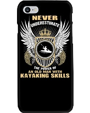 AN OLD MAN WITH KAYAKING SKILLS Phone Case thumbnail