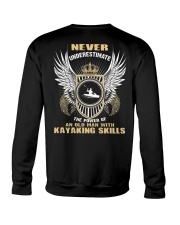 AN OLD MAN WITH KAYAKING SKILLS Crewneck Sweatshirt thumbnail