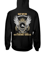 AN OLD MAN WITH KAYAKING SKILLS Hooded Sweatshirt thumbnail