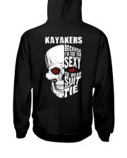 KAYAKERS BECAUSE I'M FAR TOO SEXY Hooded Sweatshirt thumbnail