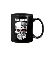KAYAKERS BECAUSE I'M FAR TOO SEXY Mug thumbnail