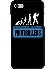 SOME BOYS BECOME MEN A FEW MEN BECOME PAINTBALLERS Phone Case thumbnail