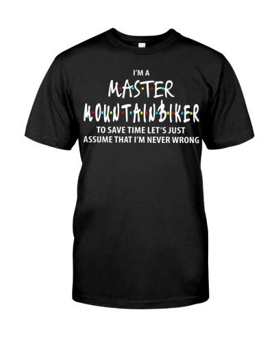I'M A MASTER MOUNTAIN BIKER