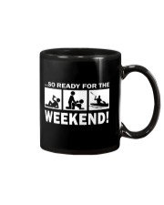 SO READY FOR THE WEEKEND - KAYAKING Mug tile