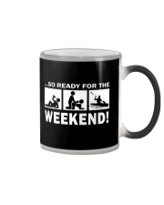SO READY FOR THE WEEKEND - KAYAKING Color Changing Mug thumbnail