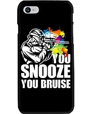 YOU SNOOZE YOU BRUISE Phone Case thumbnail