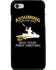 LIMITED EDITION KAYAK OLD MEN Phone Case thumbnail