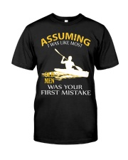 LIMITED EDITION KAYAK OLD MEN Classic T-Shirt front