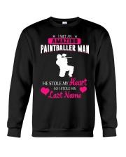 I MET AN AMAZING PAINTBALLER MAN Crewneck Sweatshirt thumbnail
