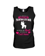 I MET AN AMAZING PAINTBALLER MAN Unisex Tank thumbnail