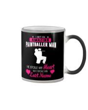 I MET AN AMAZING PAINTBALLER MAN Color Changing Mug thumbnail