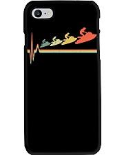 RETRO JET SKIING HEARTBEAT Phone Case thumbnail