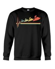 RETRO JET SKIING HEARTBEAT Crewneck Sweatshirt thumbnail