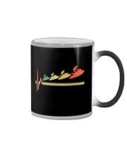 RETRO JET SKIING HEARTBEAT Color Changing Mug thumbnail