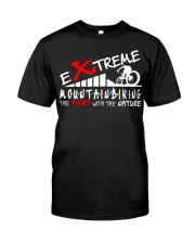 EXTREME MOUNTAIN BIKING Classic T-Shirt front