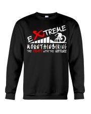 EXTREME MOUNTAIN BIKING Crewneck Sweatshirt thumbnail