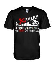 EXTREME MOUNTAIN BIKING V-Neck T-Shirt thumbnail